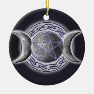 Triple Goddess Christmas Tree Ornaments