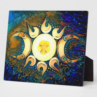 Triple Goddess Crowned - Divine Union Plaque