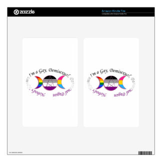 Triple Goddess Gay Demi Pansexual Pagan Pride Kindle Fire Skins