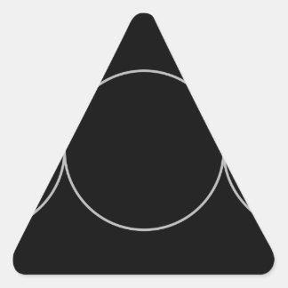 Triple Goddess Neopaganism.jpg Triangle Sticker