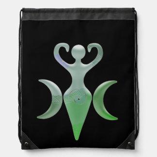 Triple Goddess Drawstring Bag