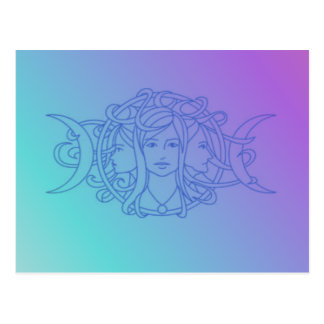 Triple Goddess Post Card