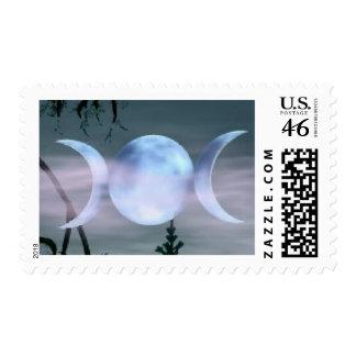 Triple Goddess Stamp