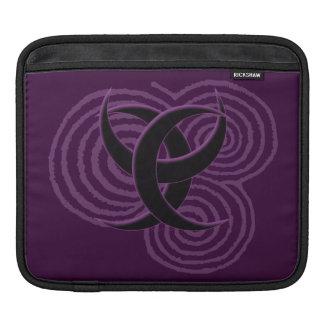 Triple Goddess Symbol iPad Sleeve