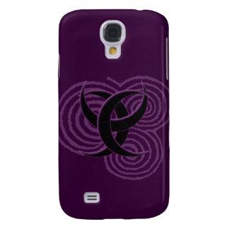 Triple Goddess Symbol Samsung Galaxy S4 Case