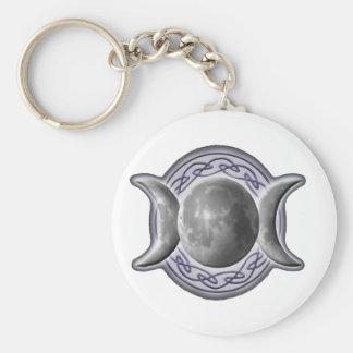 Triple_Goddess w/o Pentagram Keychain