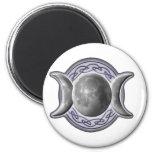 Triple_Goddess w/o Pentagram Magnets