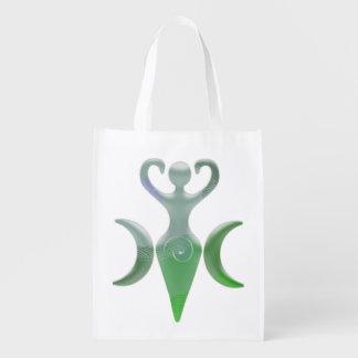 Triple Goddess Grocery Bag