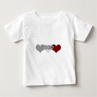 Triple Heart Ohio Infant T-shirt