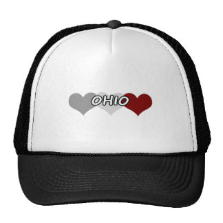 Triple Heart Ohio Trucker Hat