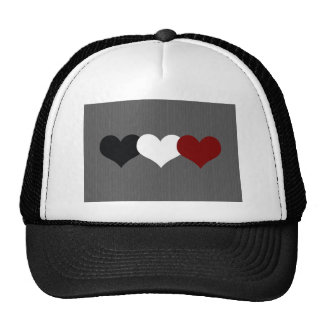 Triple Heart Trucker Hat