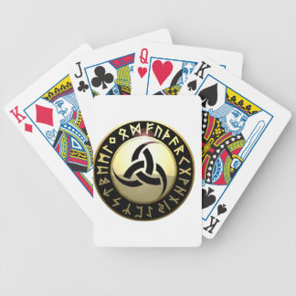 Triple Horn of Odin Bicycle Playing Cards