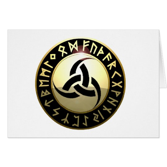 Triple Horn of Odin Card