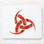 Triple Horn of Odin Mouse Pad