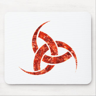Triple Horn of Odin Mouse Pads