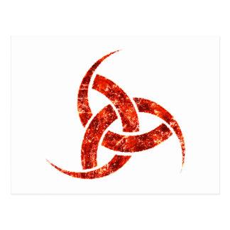 Triple Horn of Odin Postcard