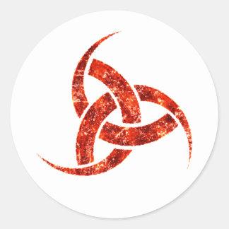 Triple Horn of Odin Sticker