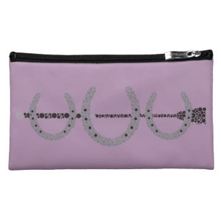 Triple Horse Shoe Cosmetics Case LAVENDER