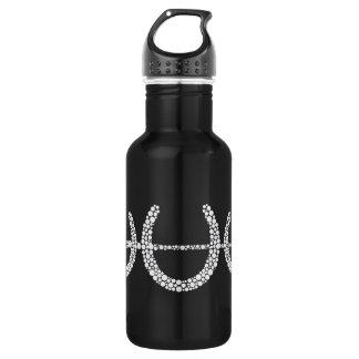 Triple Horse Shoe w Crop Sport Bottle (light) 18oz Water Bottle