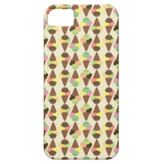 triple icecream pattern iPhone SE/5/5s case