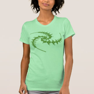 """Triple Julia Set"" Crop Circle T-Shirt"