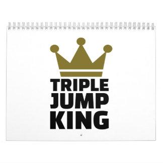 Triple jump king calendar