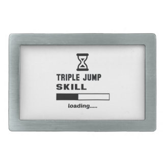Triple Jump skill Loading...... Rectangular Belt Buckle