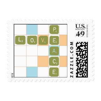 Triple Letter Score Stamps