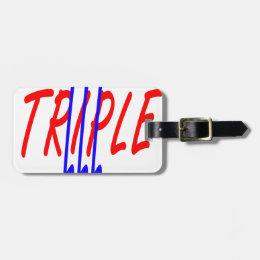 triple lll original.png luggage tag
