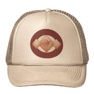 Triple Monogram Hat