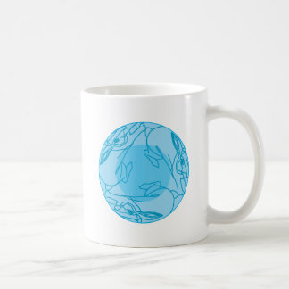 Triple Moon Bunneh Coffee Mug