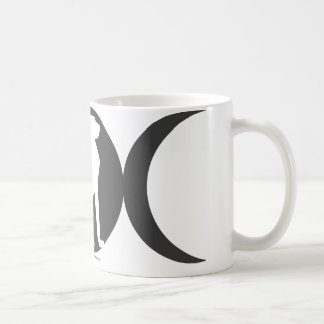 Triple Moon Cat Coffee Mug