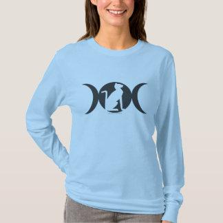 Triple Moon Cat Long-sleeved T T-Shirt