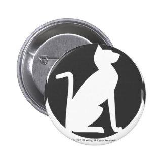 Triple Moon Cat Pin