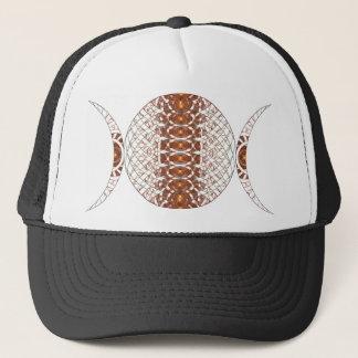 Triple Moon Fractal Art Trucker Hat