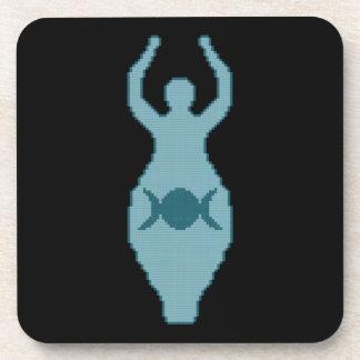 Triple Moon Goddess Coasters