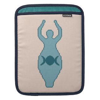 Triple Moon Goddess iPad Sleeve
