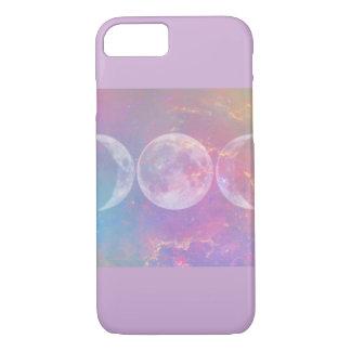 Triple Moon Goddess Phone Case