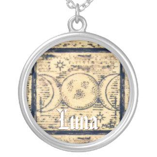Triple Moon Illust. Prim Old World Style Custom Jewelry