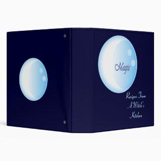 Triple Moon Magic Recipe 3 Ring Binder