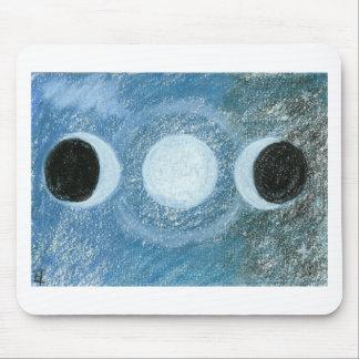 Triple Moon Mouse Pad