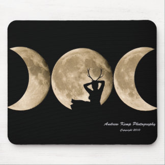 Triple Moon Mousemat