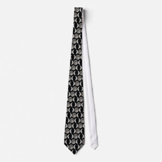 Triple moon neck tie