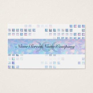 Triple Moon Opal Business Card