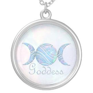 Triple Moon Opal Goddess Custom Jewelry