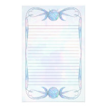 Triple Moon Opal Lined Stationery