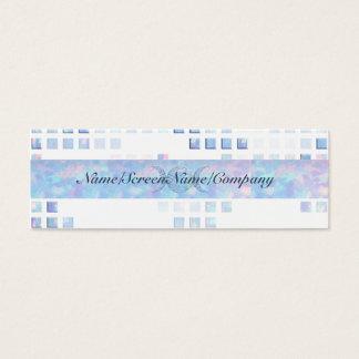 Triple Moon Opal Mini Business Card