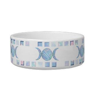 Triple Moon Opal Cat Water Bowl