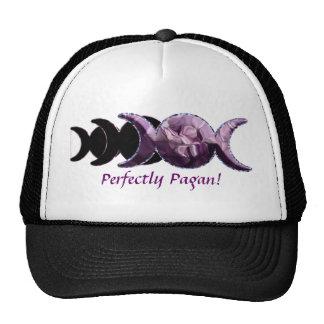 Triple Moon Perfectly Pagan! Trucker Hat