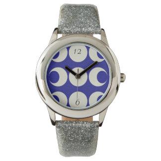 Triple Moon Wrist Watch